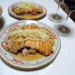 チリワイン、サンタ・ディグナ・カベルネ・ソーヴィニヨン・レゼルヴァで、五香粉と胡麻油風味の鶏のローストをいただく