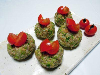 野菜のクルミペースト和え、ジョージア料理プハリ