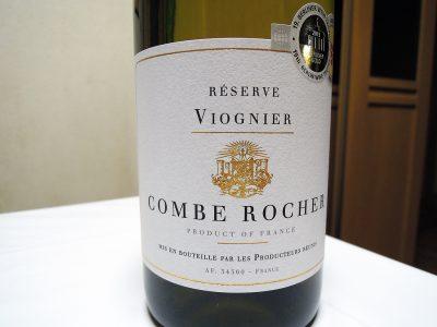 エノテカオンラインで購入したコンブ・ロシェ・ヴィオニエのラベル