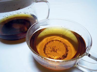 スーッとする清涼感のある爽やかな香りと味のペパーミントティー