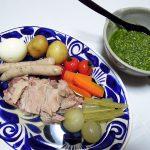 イタリア(アブルッツォ)ワイン、ベラノーヴァ トレッビアーノ・ダブルッツォで茹で肉料理ボッリート・ミストをいただく