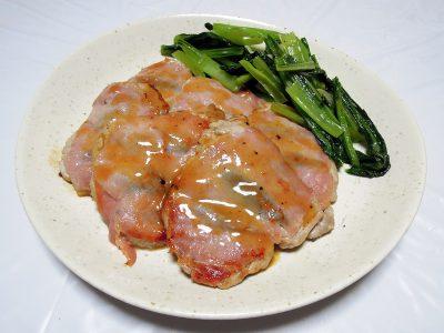 豚ヒレ肉のサルティンボッカ