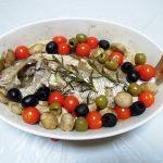 ギリシャ(マケドニア)ワイン、キリ・ヤーニ パランガ ホワイトで鯛のオーブン焼きや鰯のレモン漬けをいただく
