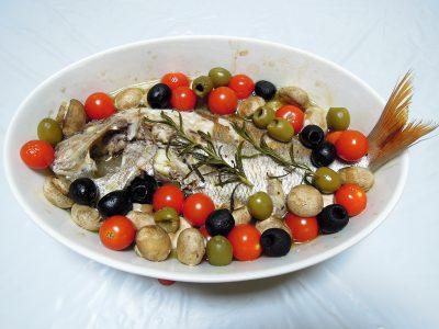 鯛のオーブン焼き
