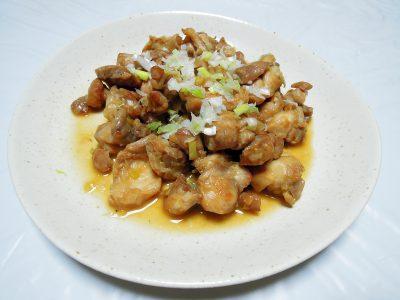 鶏もも肉の北京風揚げもの