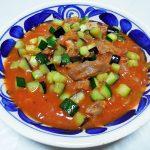 モルドバ(コドル)ワイン、アスコニ エクセプショナル・メルロでラム肉のトマト煮込みをいただく