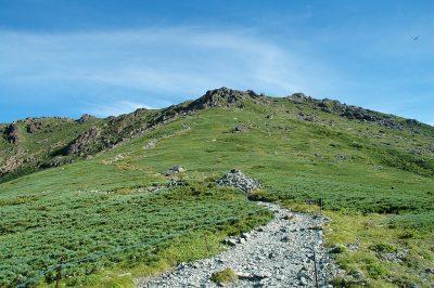 2007年の夏に登った早池峰山