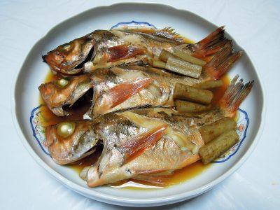 究極の料理酒、澤屋まつもと 純米 厨酒を使っためばるの煮つけ