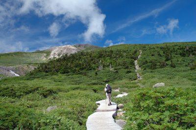 2009年の夏に登った白山