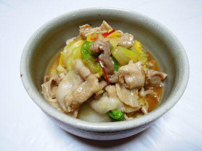 豚肉と白菜の炒め煮