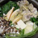 佐賀の地酒、東一 山田錦純米酒で塩漬け鶏の水炊きをいただく