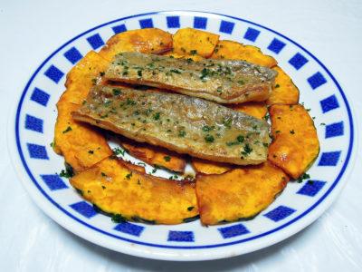 太刀魚のムニエル レモンバターソース