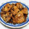 奈良の地酒、睡龍 生酛純米 H19BYの熱燗でさばの豆豉風味煮をいただく