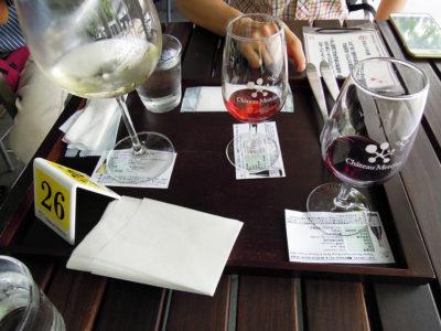 シャトー・メルシャンのテイスティングカフェで昼食