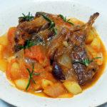イタリア(アブルッツォ)ワイン、ブリッコ・アル・ソーレ モンテプルチアーノ・ダブルッツォで仔羊のローズマリー風味をいただく