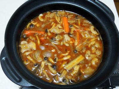 豚肉の味噌鍋