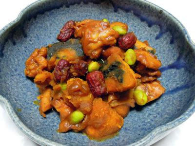 鶏肉とかぼちゃのカレー煮込み