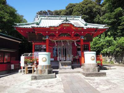 海南神社 本殿、幣殿、拝殿