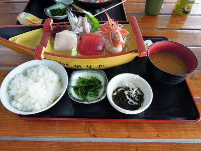 漁師料理かなやの人気メニューかなや定食