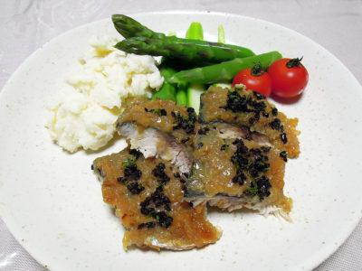 さばのオーブン焼き、ギリシャ風