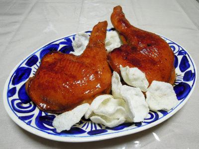 博多一番どりを使った鶏もも肉の照り焼き