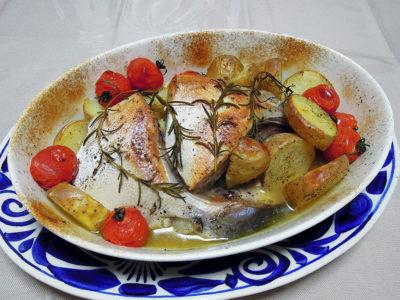 ぶりかまのオーブン焼き