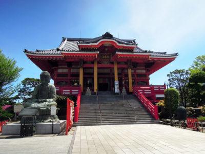 圓福寺(飯沼観音)の本堂と大仏