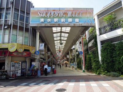近くにあった清水駅前銀座商店街をちょっとだけ覗いてみる