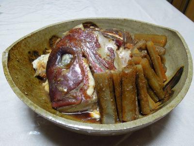 真鯛のあら炊き
