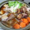 鳥取の地酒、辨天娘 生酛純米 若桜町産玉栄 22番娘の飛び切り燗であんこう鍋をいただく