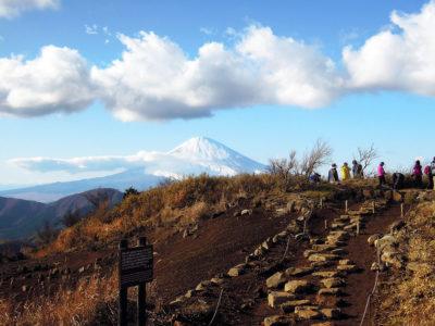 明神ヶ岳の山頂に到着