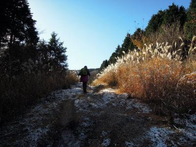 周囲の景色は次第に冬に変わる