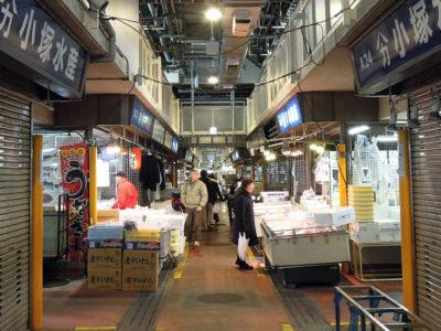 一般開放日の横浜中央卸売市場