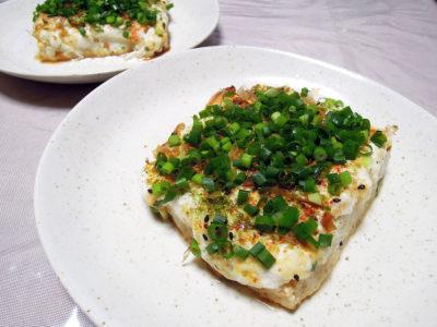 大和芋の豆腐ステーキ