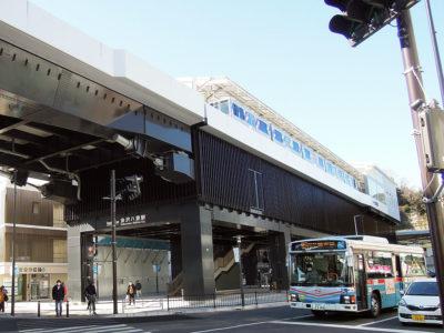 京急で金沢八景駅まで行き、散歩をスタート