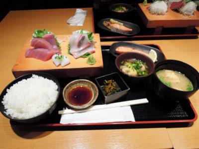 川崎幸市場の魚河岸定食・水喜のおすすめ御膳セット