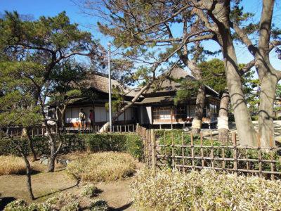 伊藤博文金沢別邸を少しだけ眺める