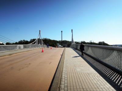 金沢八景大橋をわたって八景島へ