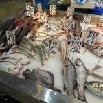 はじめて川崎幸市場(南部市場)に行って、ほうぼうやめばる、まぐろを購入し、食堂棟にある魚河岸定食・水喜でおすすめ御膳セットをいただく