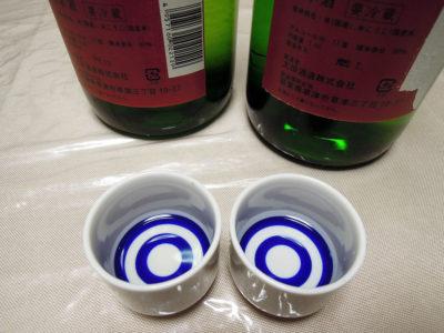 「道灌 特別純米 生原酒 蔵出し一番酒」のH30BYとR1BYの比較
