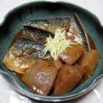 鳥取の地酒、辨天娘 生酛純米 若桜町産強力 25番娘 H28BYの飛び切り燗でさばの味噌煮をいただく