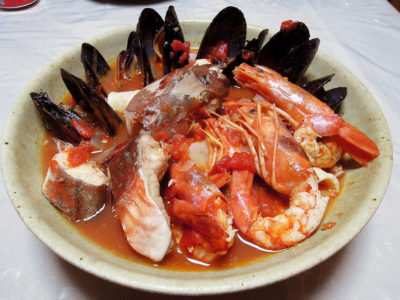 イタリアの漁師料理ズッパディペッシェ