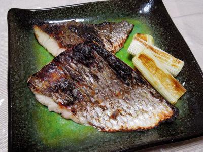 キビレ鯛の西京焼き