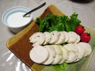 カスピ海ヨーグルトを使った鶏ハム