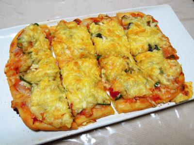 レーズン酵母の中種を使ってピザを焼く