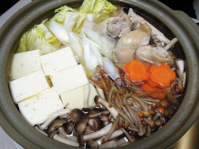 白濁鶏がらスープの水炊き
