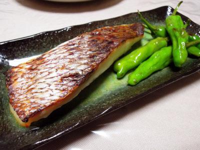 真鯛の西京焼き