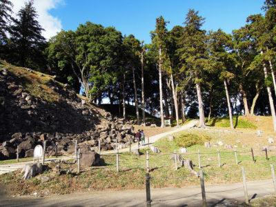 石垣山一夜城歴史公園に到着