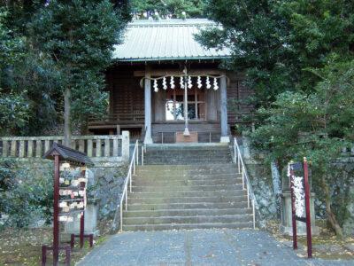 早川地域の氏神、紀伊神社