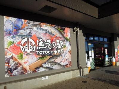 漁港の駅TOTOCO小田原に到着